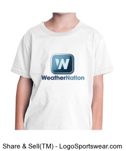 WeatherNation American Apparel Youth T-Shirt Design Zoom