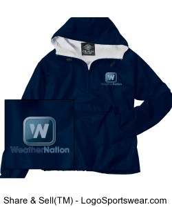WN Classic Solid Pullover Adult - Blue Design Zoom
